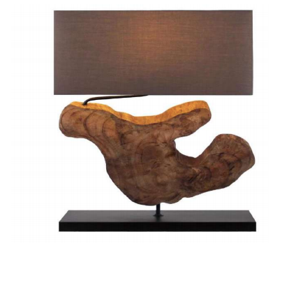 ORGANIC SHAPE TABLE LAMP - Casa Suarez