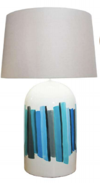 Blue Banda table Lamp - Casa Suarez