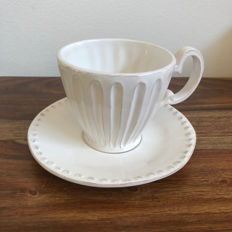 Palermo Cup and Saucer Set - Casa Suarez