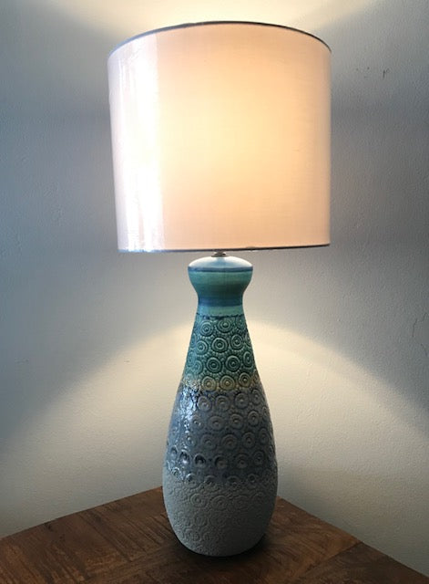 Lamp Ceramic blue green - Casa Suarez