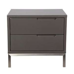 Naples Side Table Grey - Casa Suarez