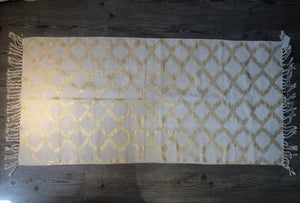 Natural Golden Foil Rug - Casa Suarez