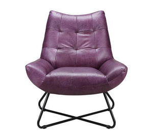 Graduate Lounge Chair Purple - Casa Suarez