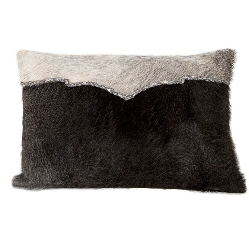 Indie Cow Hide Pillow - Horizontal Stripe - Casa Suarez