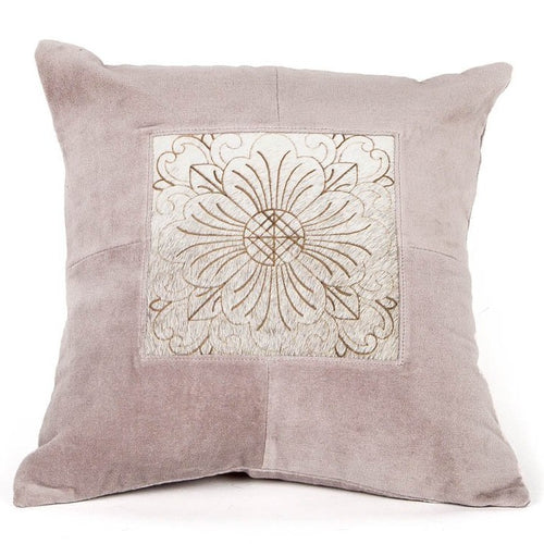 Zen Harmony Leather Cushion