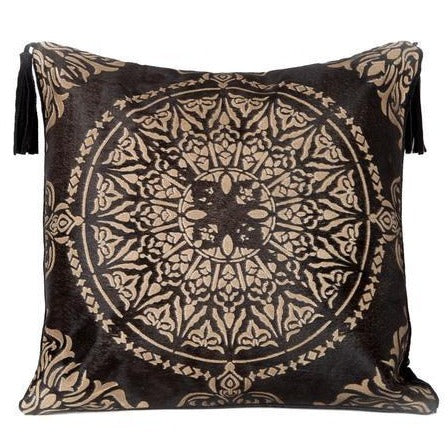 Zen Serenity Leather Cushion