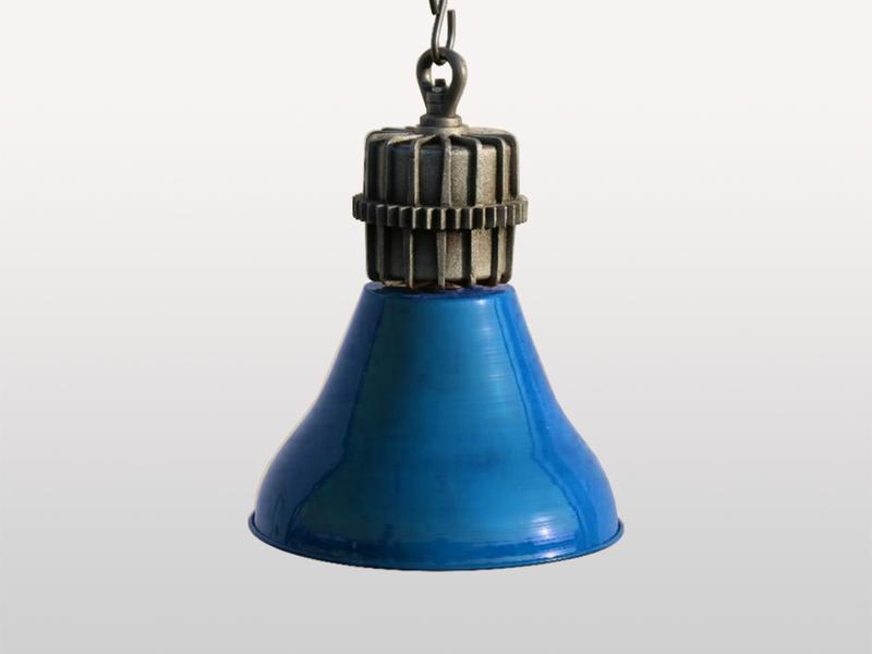 Parker Blue Hanging Lamp