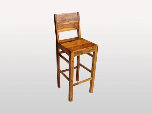 Tabouret Avadi In Bois De Rose