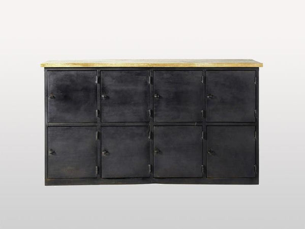 Buffet Alfred 8 Doors Metal & Wood - Casa Suarez