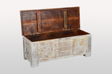 Antique Chest White - Casa Suarez