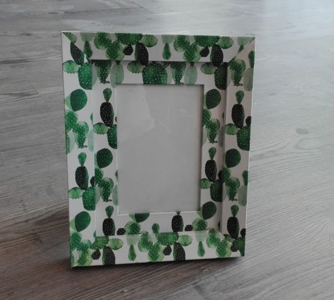 Cactus photo frame - Casa Suarez