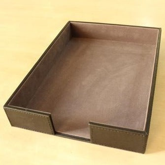 Indie Handy Leather Tray - Casa Suarez
