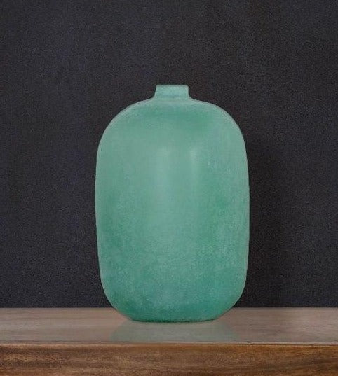Blown Glass vase opaque - Casa Suarez