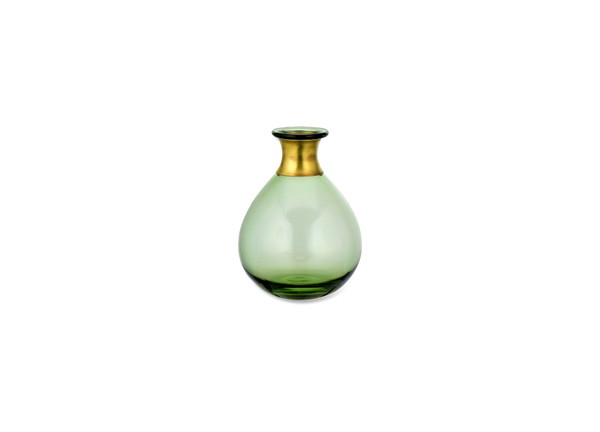 Miza Mini Glass Vase - Green