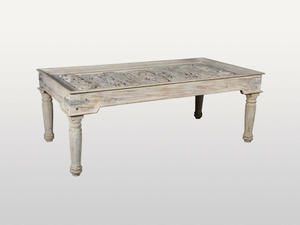 Antique Glass Dining Table - Casa Suarez