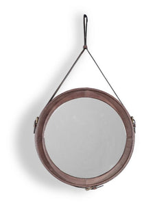 Leather Mirror - Casa Suarez