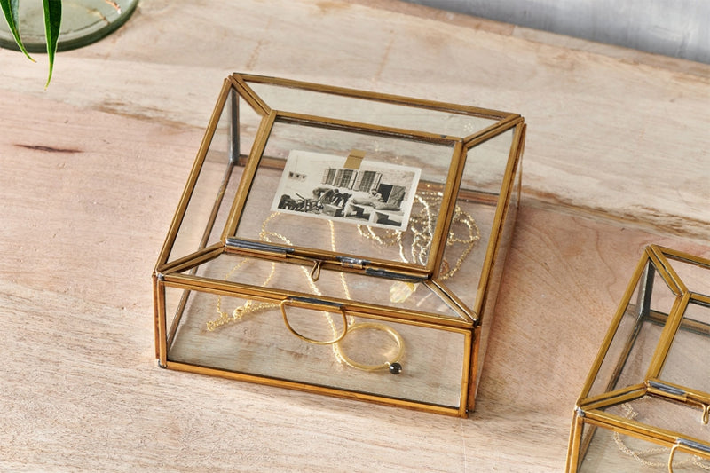 Nalou jewellery box with frame