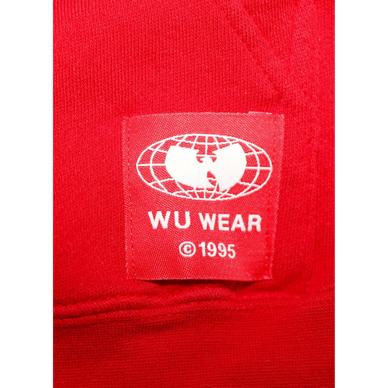 GRAINS HOODIE - RED - Wu Wear