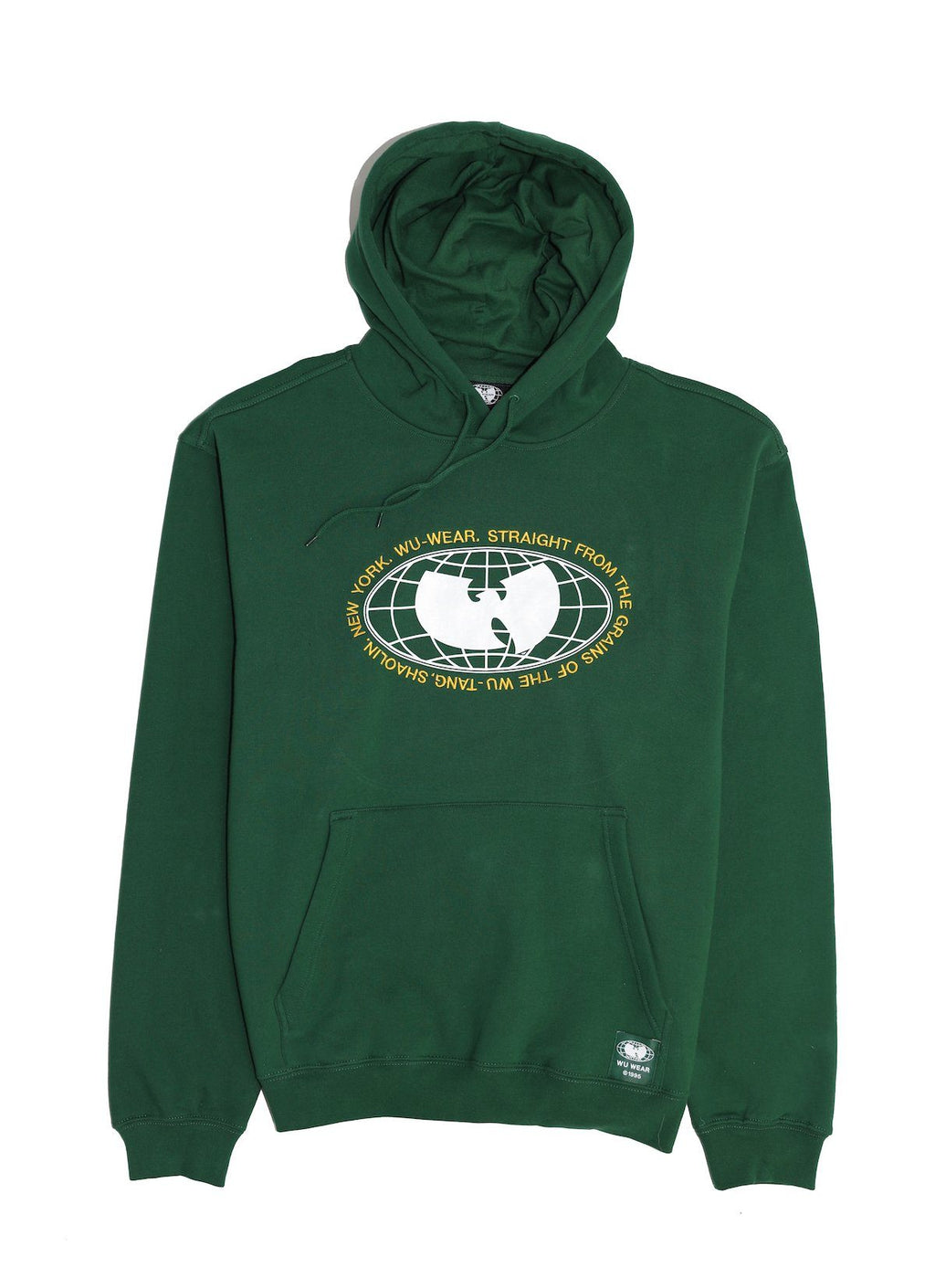 GRAINS HOODIE - GREEN - Wu Wear