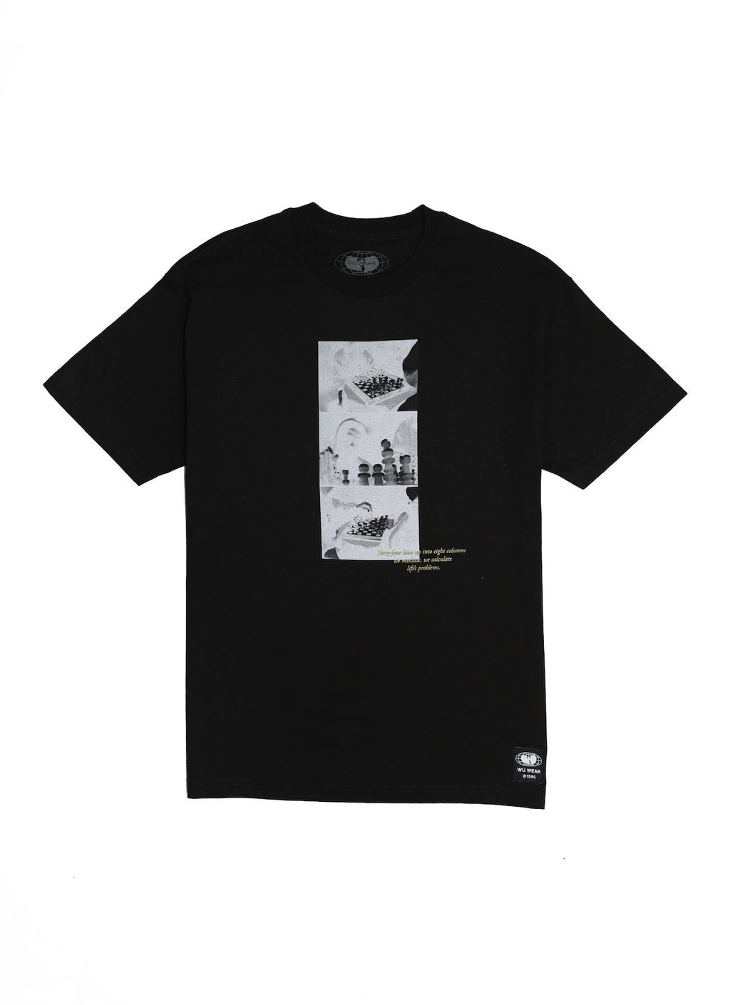 CHESSBOXING TEE - BLACK - Wu Wear