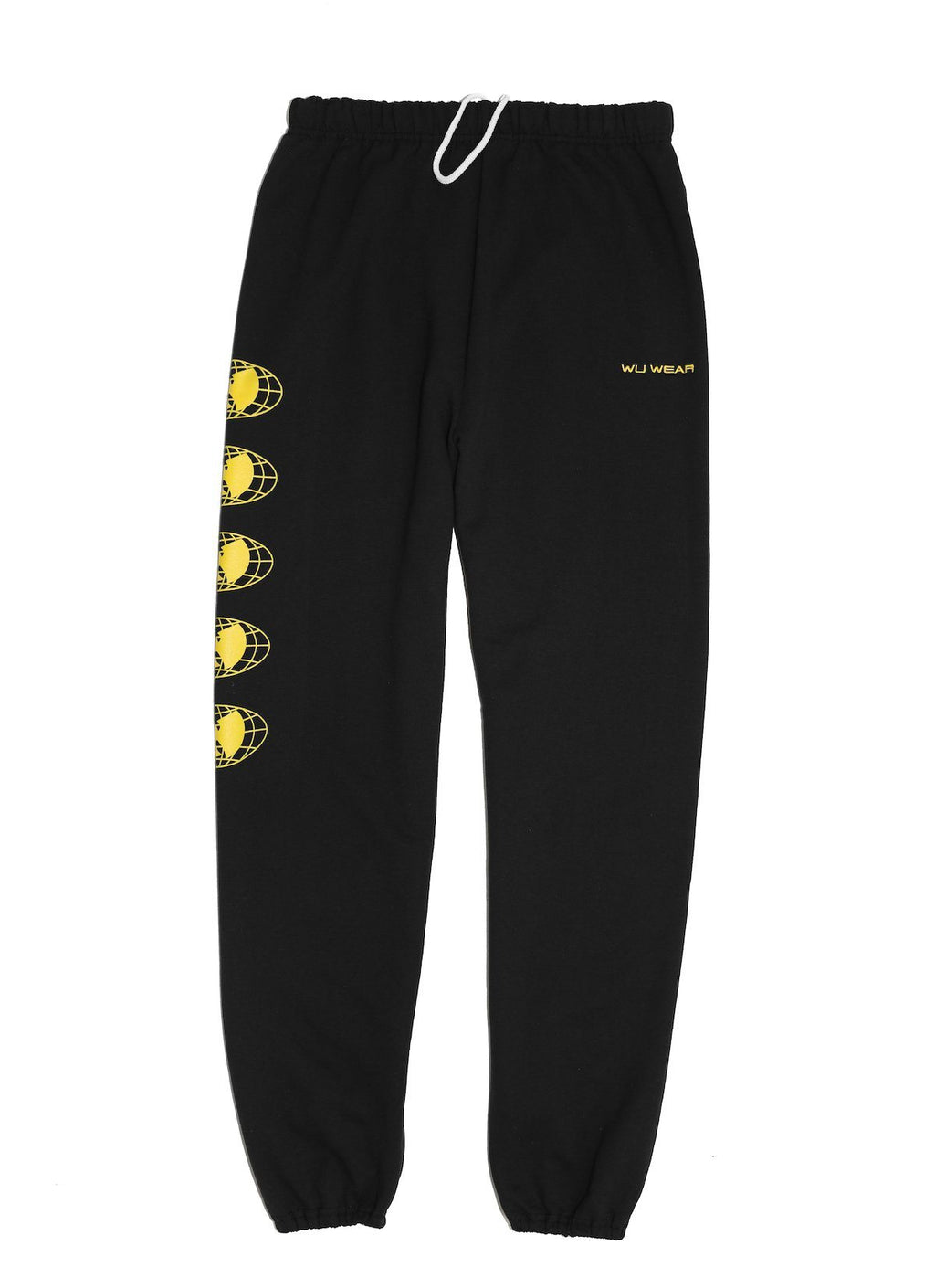WU WEAR OG SWEATPANTS - BLACK - Wu Wear