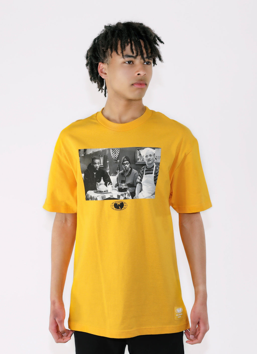 DELIRIUM TEE - GOLD - Wu Wear