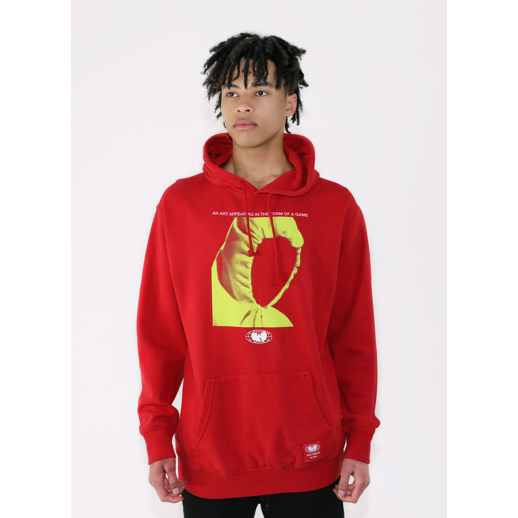 GAME HOODIE - RED - Wu Wear
