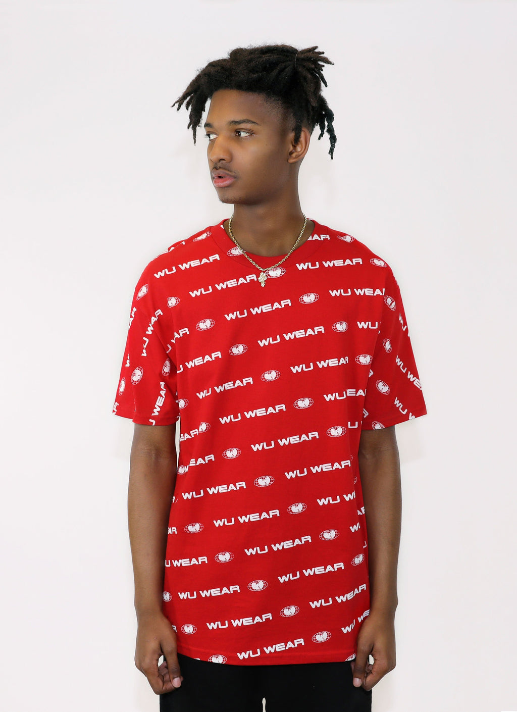 CITY TEE - RED - Wu Wear