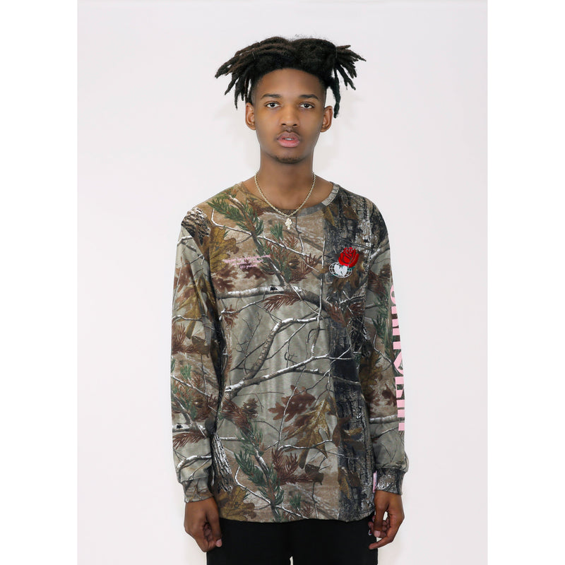 SHAOLIN LONG SLEEVE - CAMO - Wu Wear
