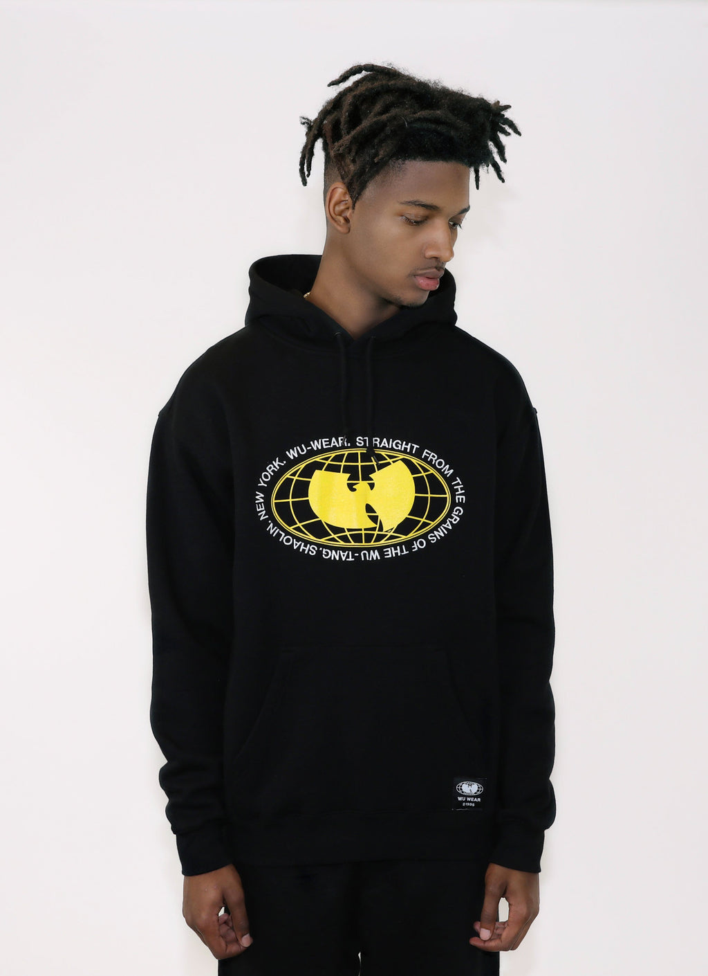 GRAINS HOODIE - BLACK - Wu Wear