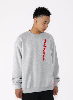 WU WEAR OG CREW - GREY - Wu Wear