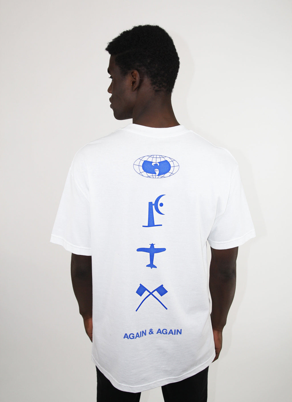 FOUR ICONS TEE - WHITE - Wu Wear