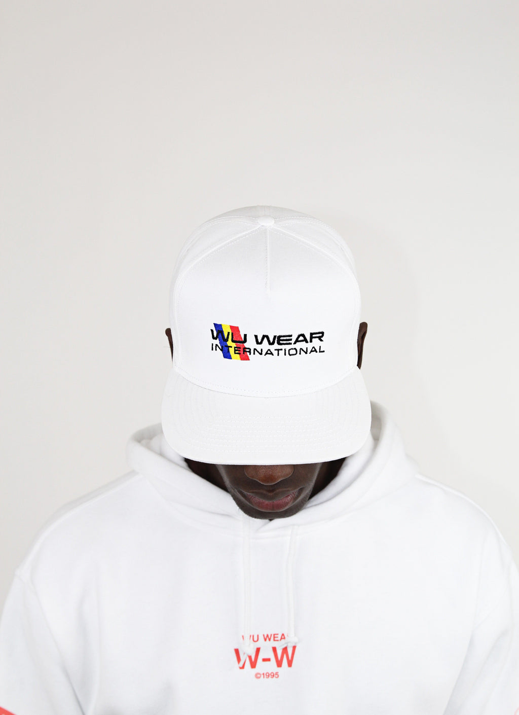 INTERNATIONAL SNAPBACK - WHITE - Wu Wear