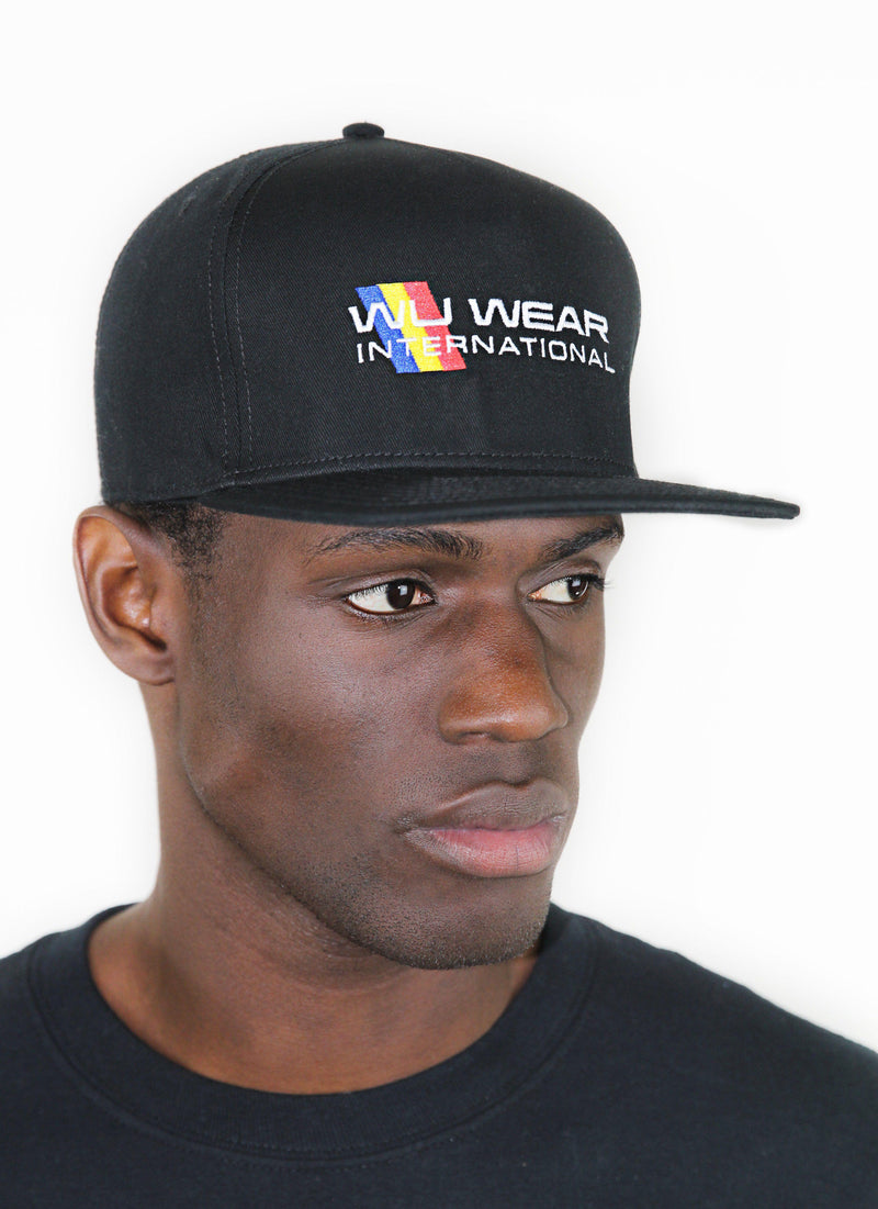 INTERNATIONAL SNAPBACK - BLACK - Wu Wear