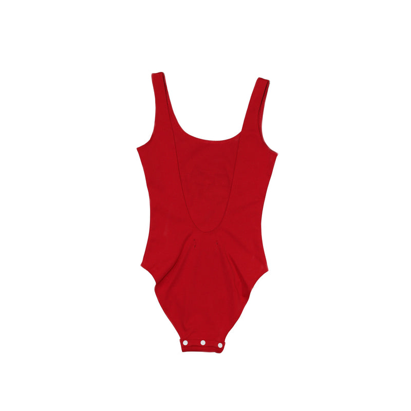 WU WEAR GLOBE BODYSUIT - RED - Wu Wear