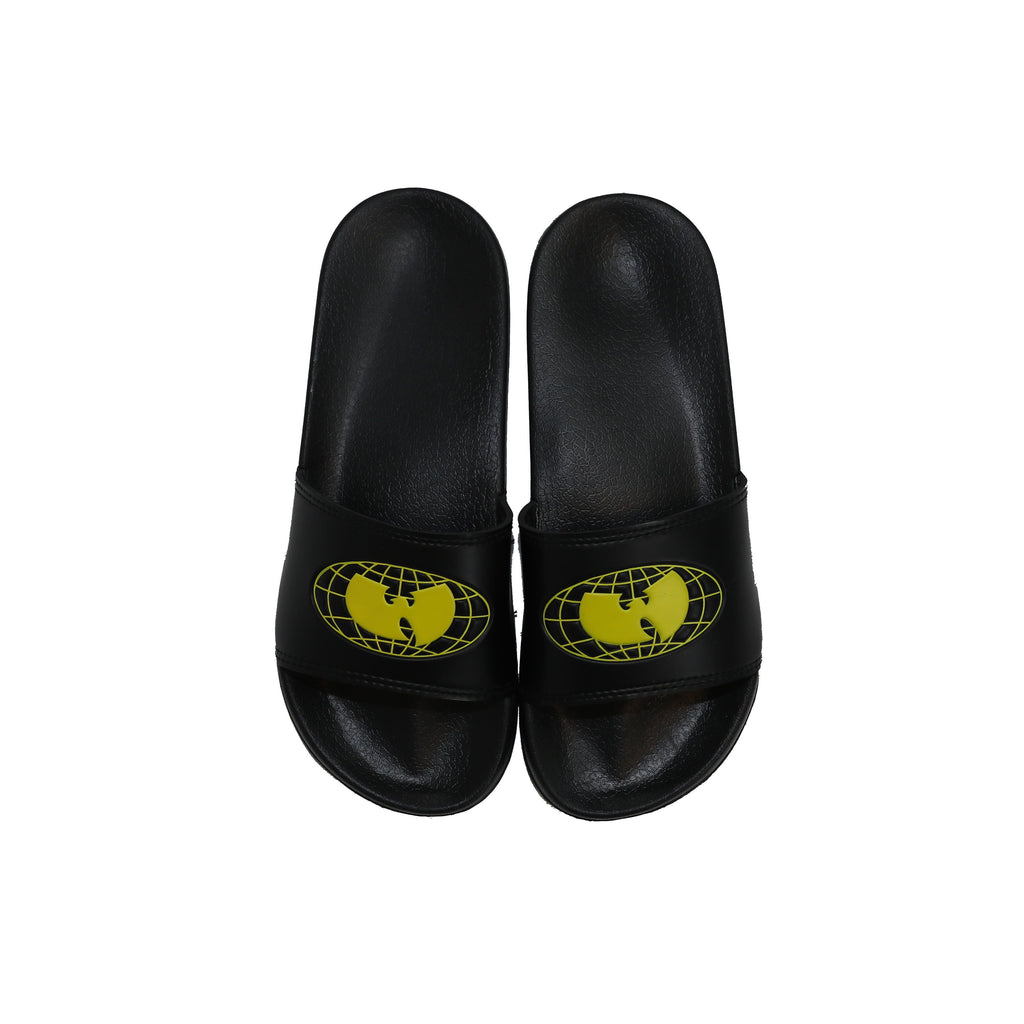 WU WEAR OG SLIDES - BLACK - Wu Wear