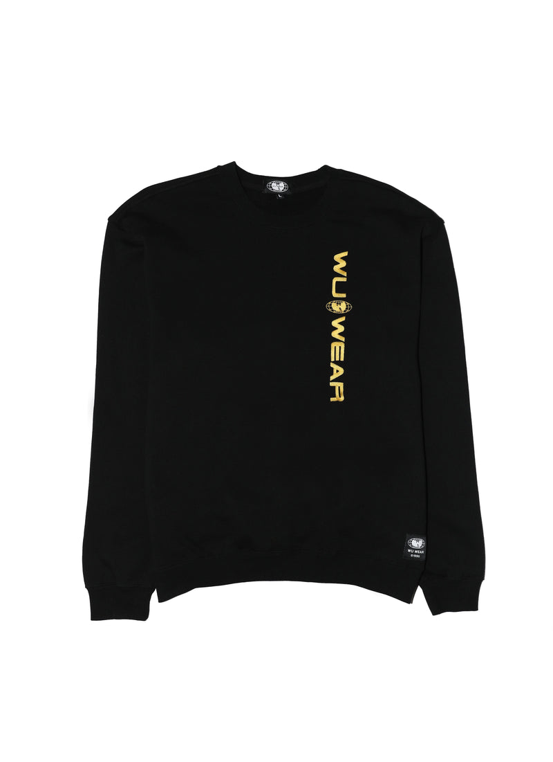 WU WEAR OG CREW - BLACK - Wu Wear