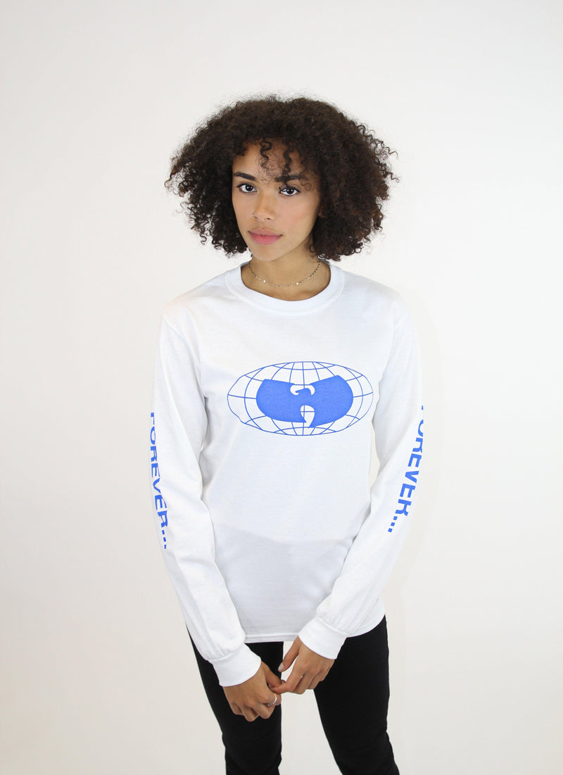 STRAIGHT FROM THE GRAINS LONG SLEEVE SHIRT - WHITE - Wu Wear