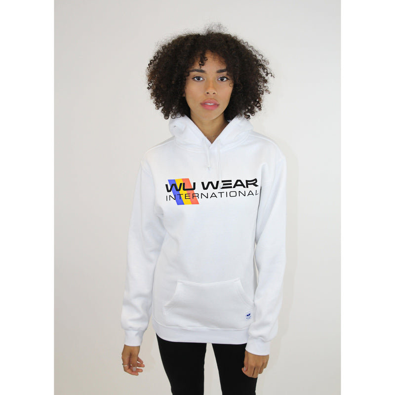 1995 INTERNATIONAL HOODIE - WHITE - Wu Wear