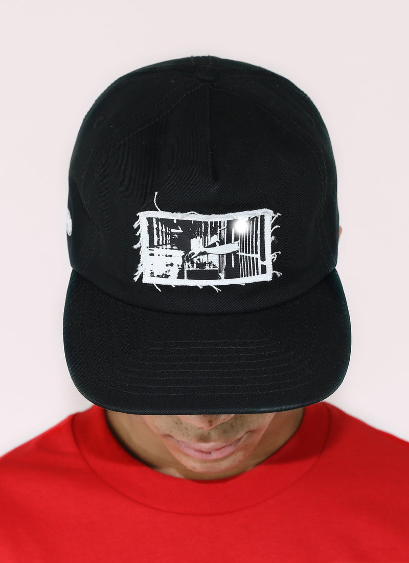 INMATE FORMLESS CAP - BLACK - Wu Wear