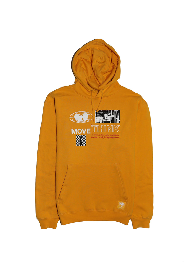 THINK HOODIE - GOLD - Wu Wear