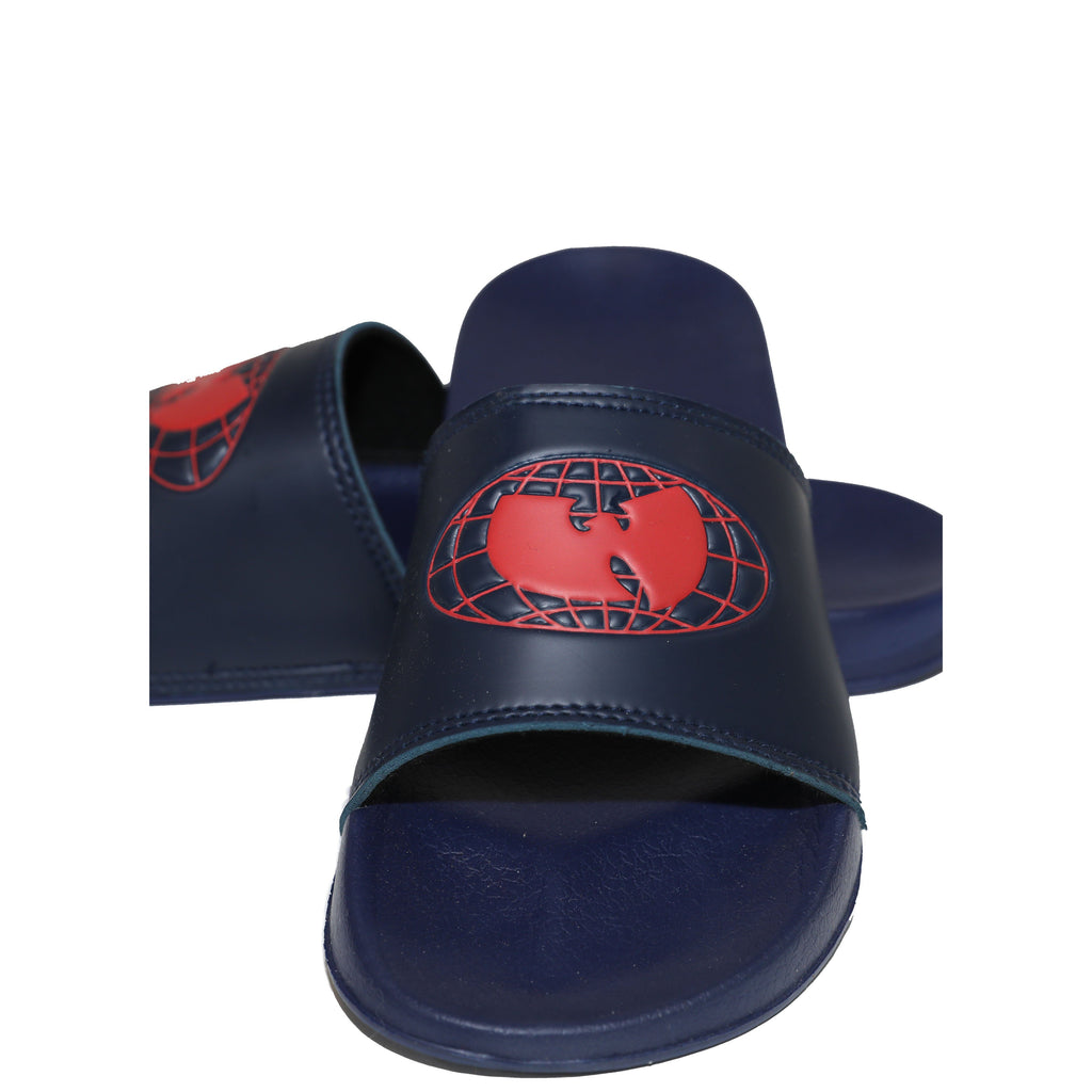WU WEAR OG SLIDES - NAVY - Wu Wear