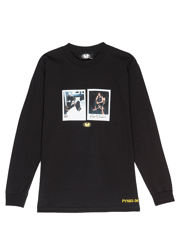 ODB Polaroid Long Sleeve Tee - Wu Wear