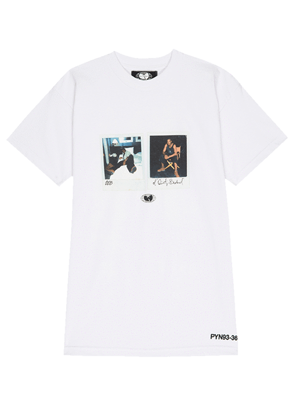 ODB Polaroid Tee - White - Wu Wear