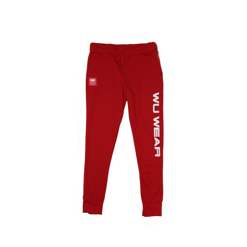 WU WEAR JOGGER - RED - Wu Wear