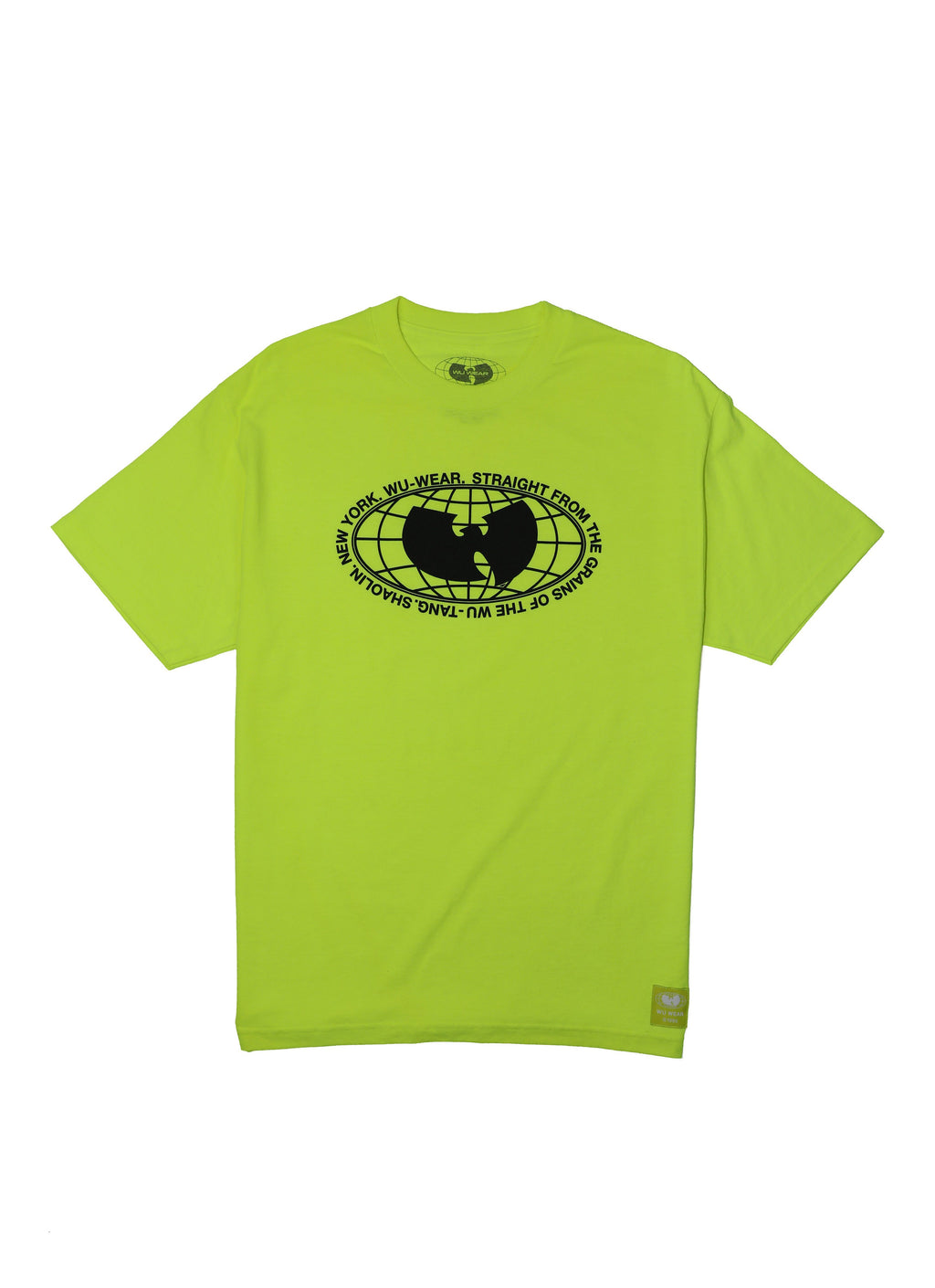 GRAINS TEE - LIME - Wu Wear