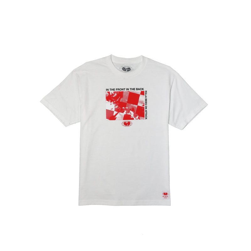 ATTACK TEE - WHITE - Wu Wear