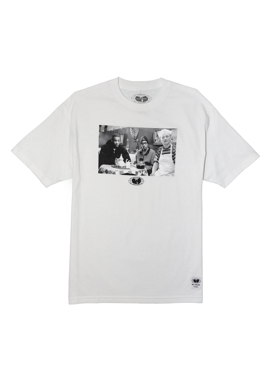 DELIRIUM TEE - WHITE - Wu Wear