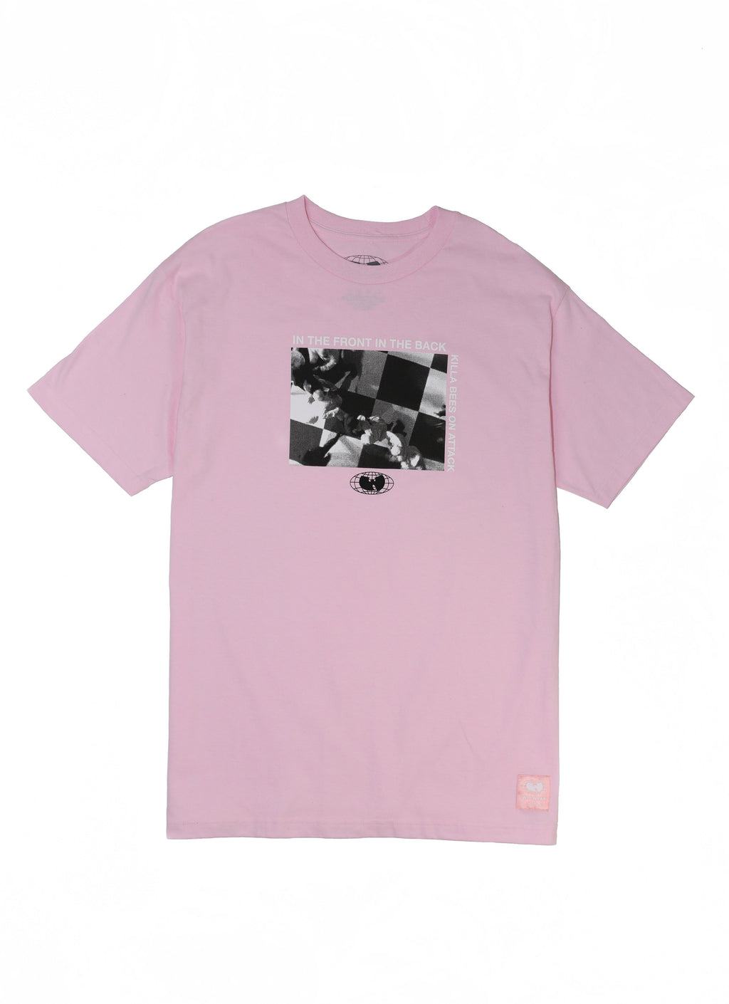 ATTACK TEE - PINK - Wu Wear
