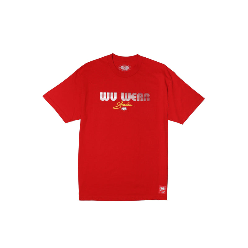 MGM TEE - RED - Wu Wear